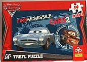 Cars pussel mini 54 bitar