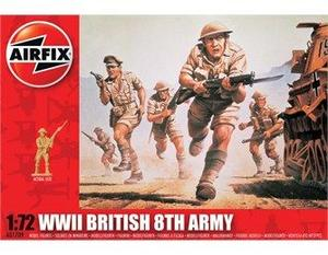 Airfix soldater WW2  British 8th army